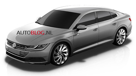 2018 VW CC leaked official images