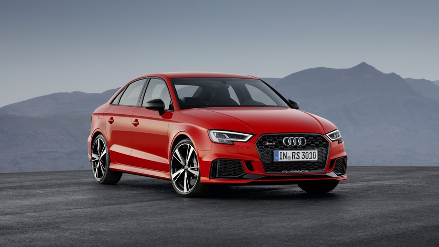 Audi RS3 Sedan with 400 hp debuts in Paris, arrives in U.S. next summer