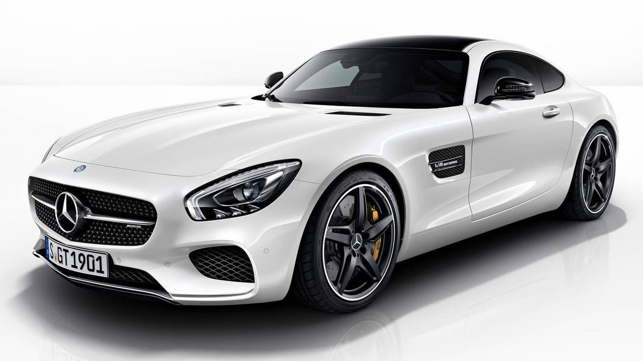 Mercedes-AMG GT with Night Package