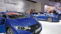 Honda Civic (Euro-spec) at 2014 Paris Motor Show