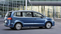 2015 Volkswagen Sharan facelift first official pics hit the web
