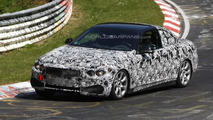 BMW 4-Series Cabrio and Coupe spied on Nurburgring