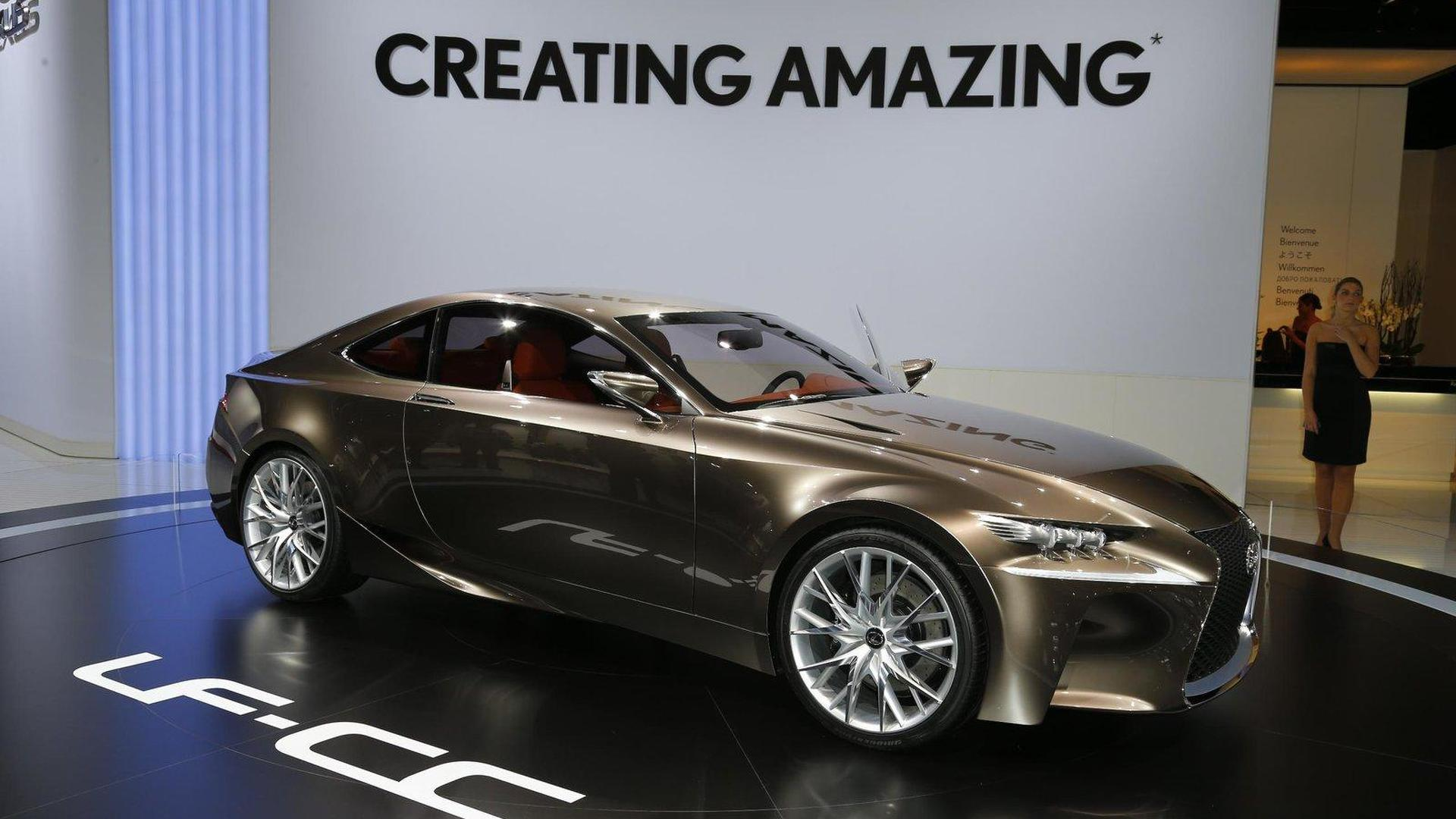 Lexus trademarks 'RC 350', could be LF-CC production version