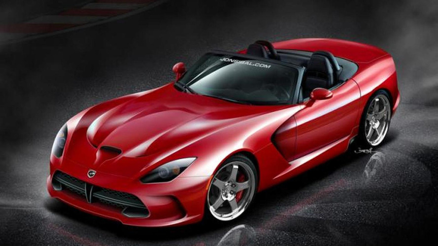 2013 SRT Viper Roadster rendered