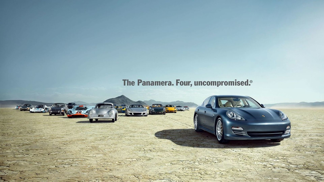 Porsche Panamera - Four, Uncompromised wallpaper