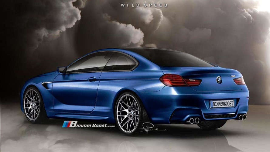 BMW M6 F12 renderings based on 6 Series Coupe Concept surface