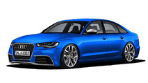 2014 Audi RS6 rendered [videos]