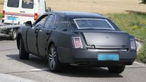 Grand Bentley Prototype Caught Disguised as a Rolls Royce
