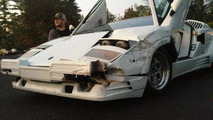 Lamborghini Countach 25th Anniversary Edition damaged during 'The Wolf of Wall Street' filming