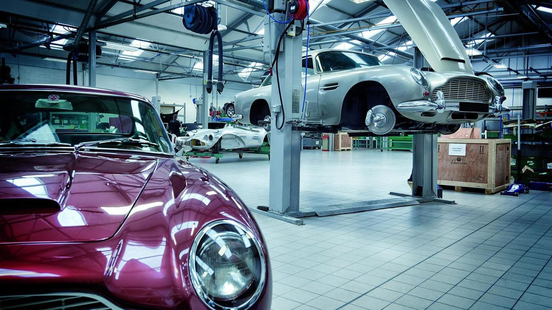 Aston Martin opens the Heritage Showroom, will sell classic cars direct
