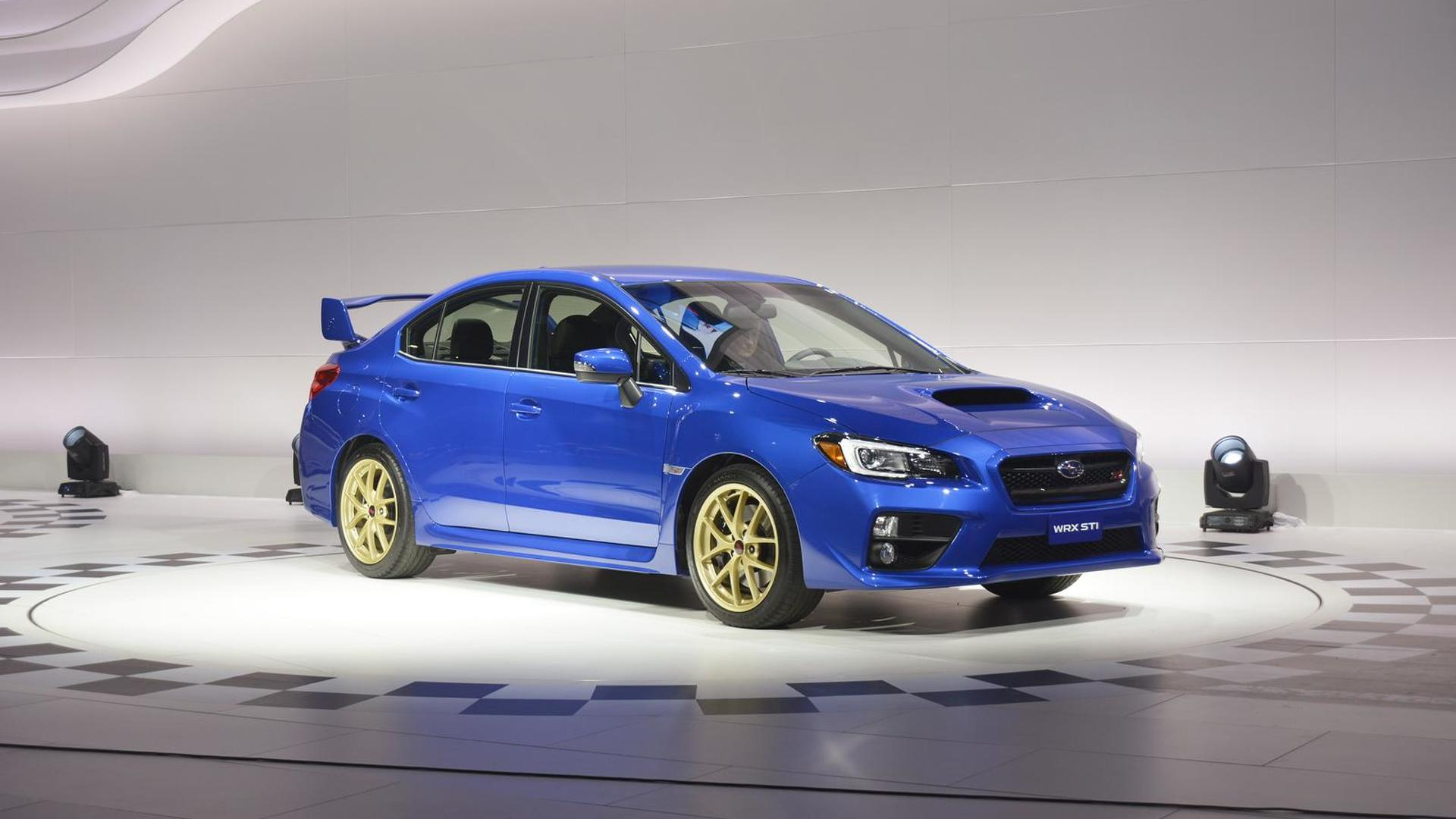 2015 subaru wrx and wrx sti pricing announced us. Black Bedroom Furniture Sets. Home Design Ideas