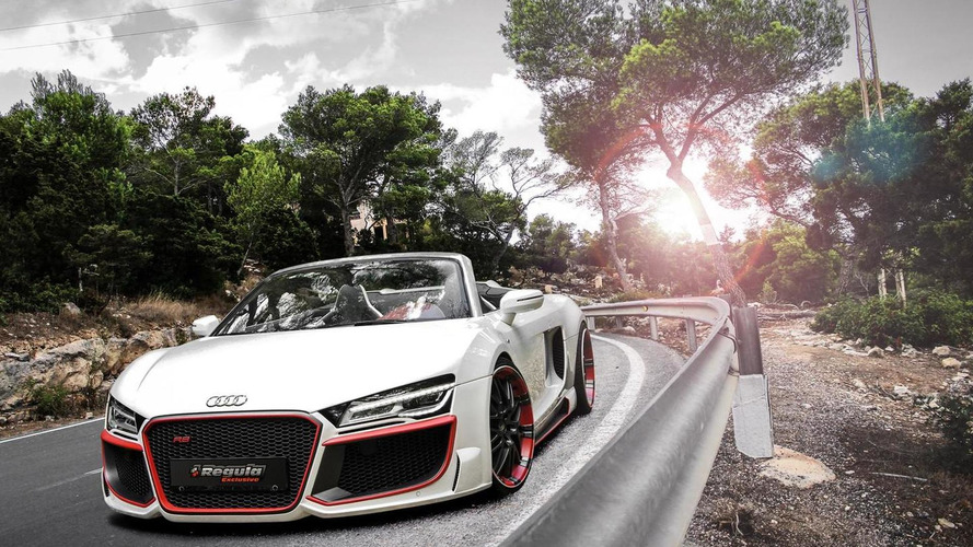 Audi R8 V10 Spyder gets bodykit from REGULA Tuning