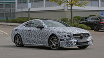 Mercedes E Class Coupe shows its stylish bodywork in new spy photos