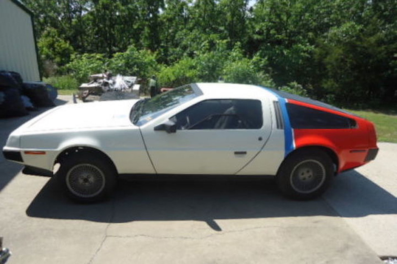 Hungry For Nostalgia? The Domino's Pizza DeLorean is For Sale