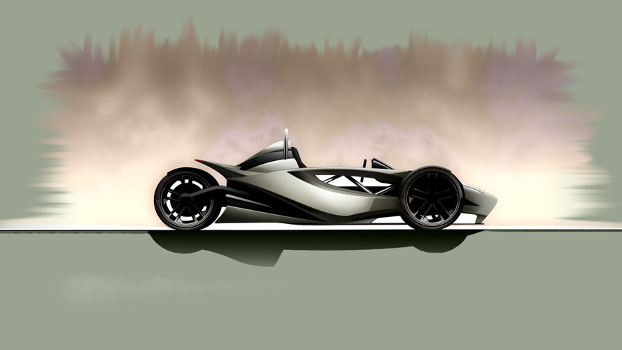 Black Mamba EV trike promises up to 810 hp, arrives in 2017