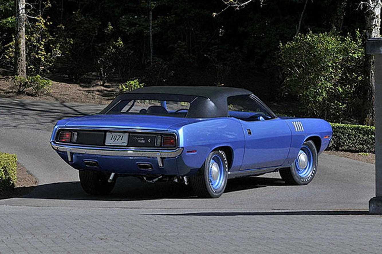 Hemi Cuda Convertible Sells For an Insane $3.5 Million