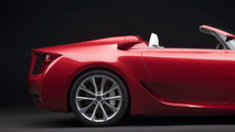 Detroit Auto Show: Lexus LF-A Roadster Revealed