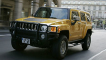 Hummer H3 now arriving in Europe