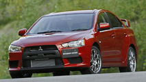 Mitsubishi Lancer Evolution X To Debut at AIMS