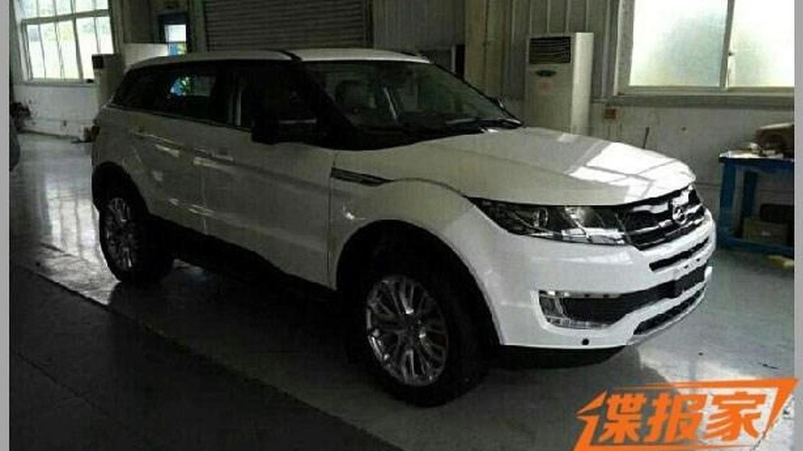 Range Rover Evoque lookalike from China returns in live pics