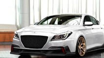 2015 Hyundai Genesis by ARK Performance