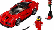 Lego Speed Champions collection to include the McLaren P1 & Ferrari LaFerrari