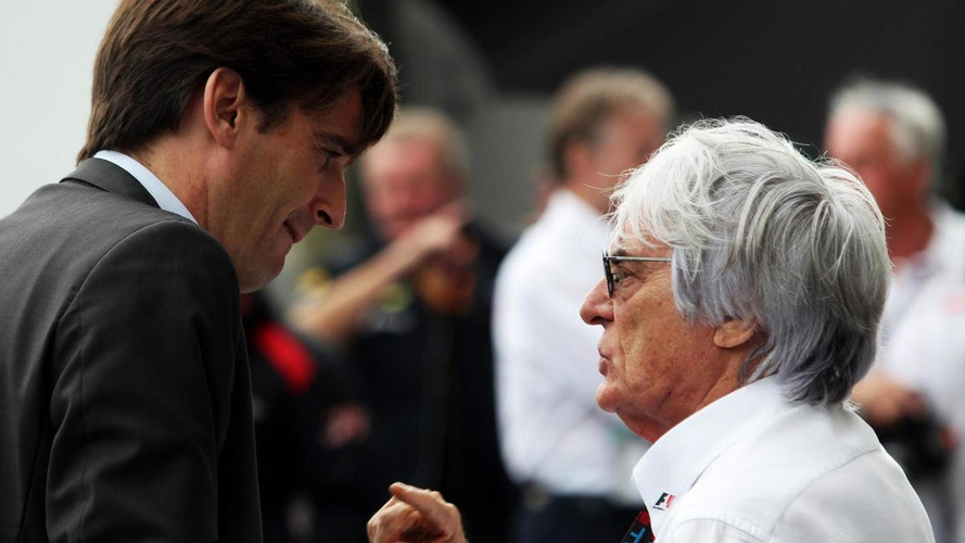 Ecclestone on a mission to make more noise