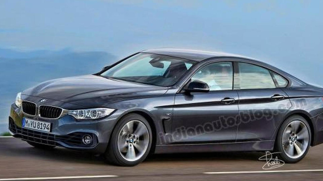 BMW 4-Series GranCoupe render
