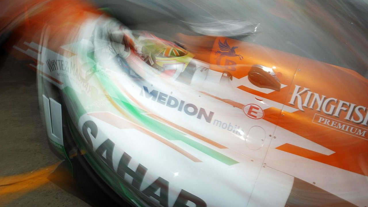 James Calado Force India Test Driver 22.11.2013 Brazilian Grand Prix