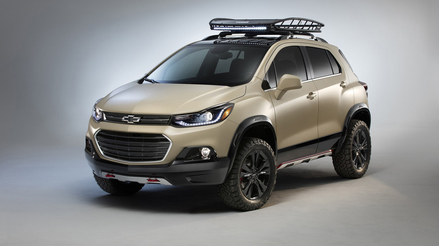 Chevy Trax Active concept arrives at SEMA with extra off-road prowess