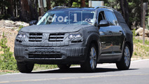 Volkswagen CrossBlue Spy Shots