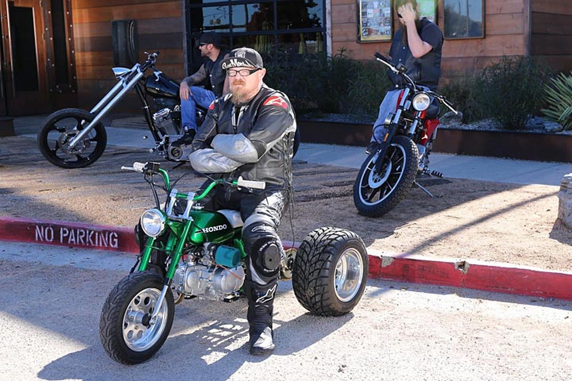 "Gas Monkey Garage's Mean, Green ""HONDO"" Trike is Up for Sale"