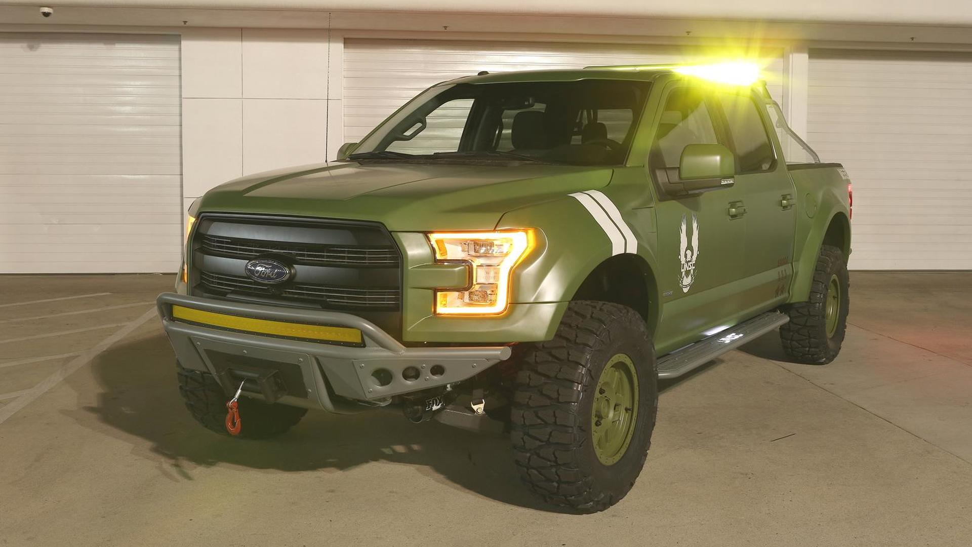 Ford F-150 Halo Sandcat revealed at E3