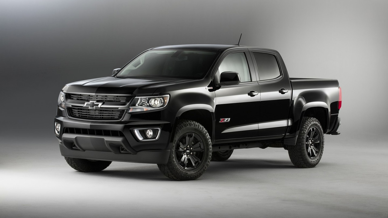 2016 Chevy Colorado Z71 Midnight Edition
