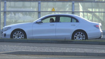 2016 Mercedes E-Class prototypes seen with barely any makeup [video]