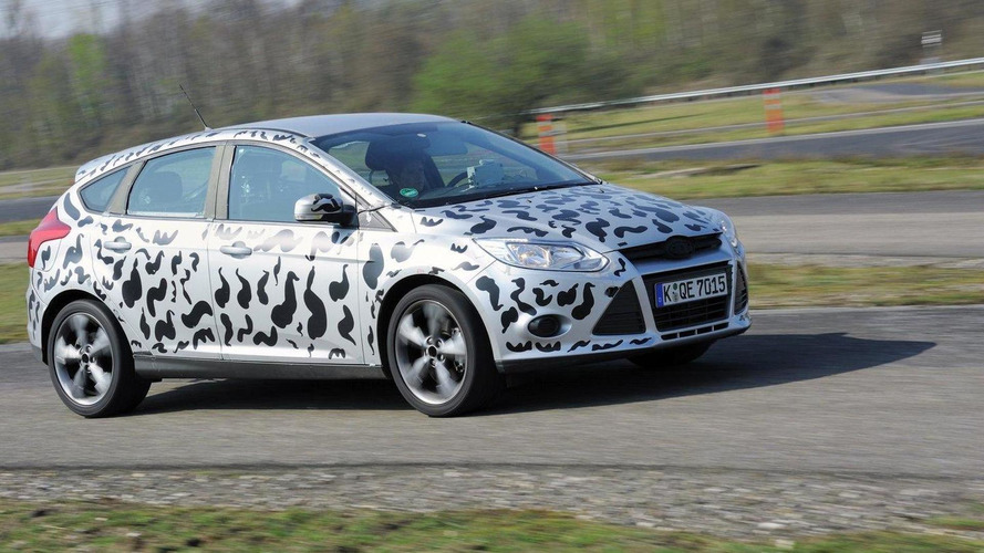 2012 Ford Focus ST prototype testing
