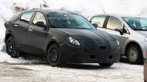 Alfa Romeo Milano prototype spy photo