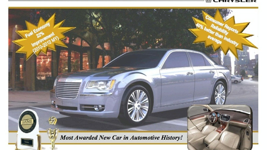 2010 Chrysler 300C, 2010 Jeep Grand Cherokee Previewed in Viability Plan