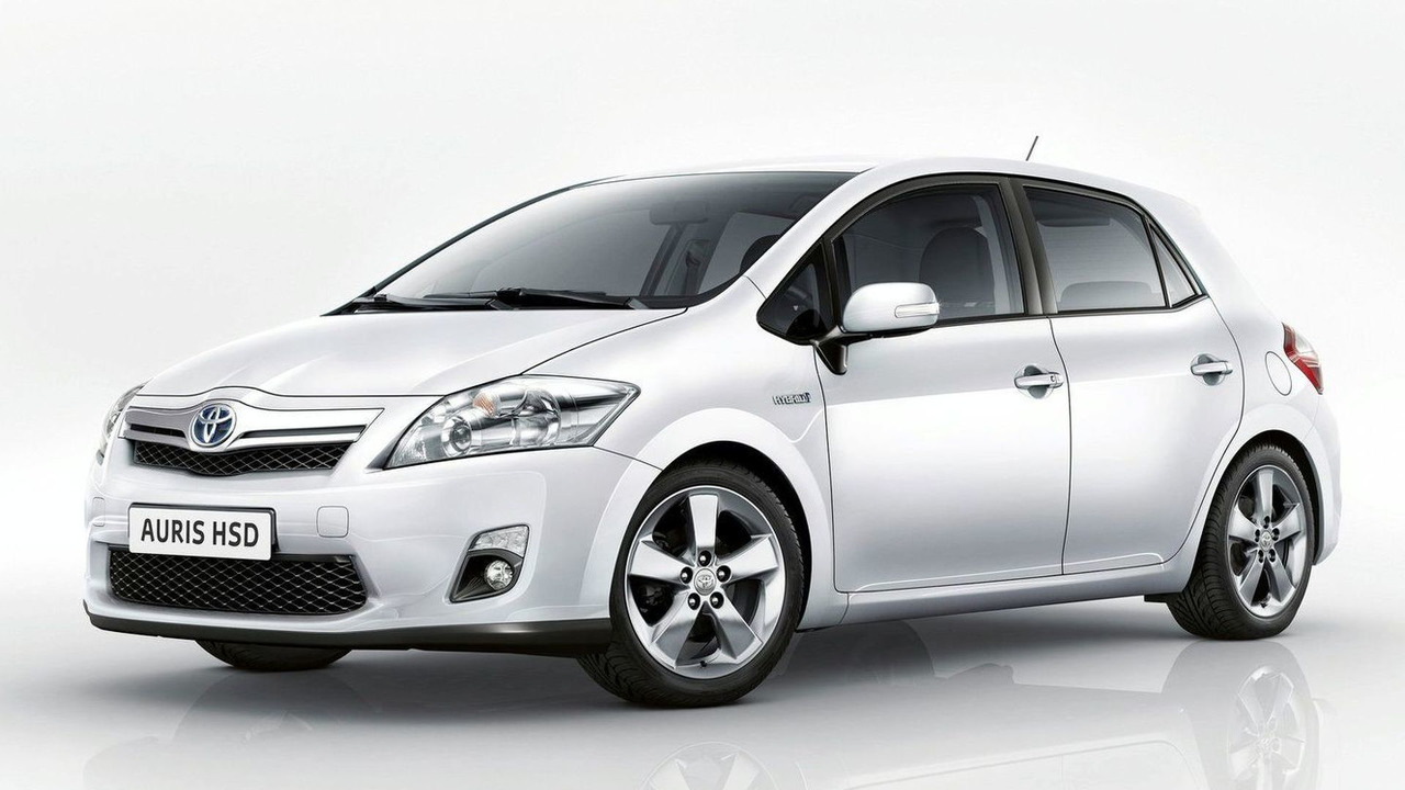 Toyota Auris HSD production version first photo - 15.02.2010