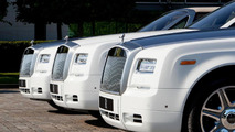 Rolls-Royce unveils three bespoke Phantom Drophead Coupes at the Olympics