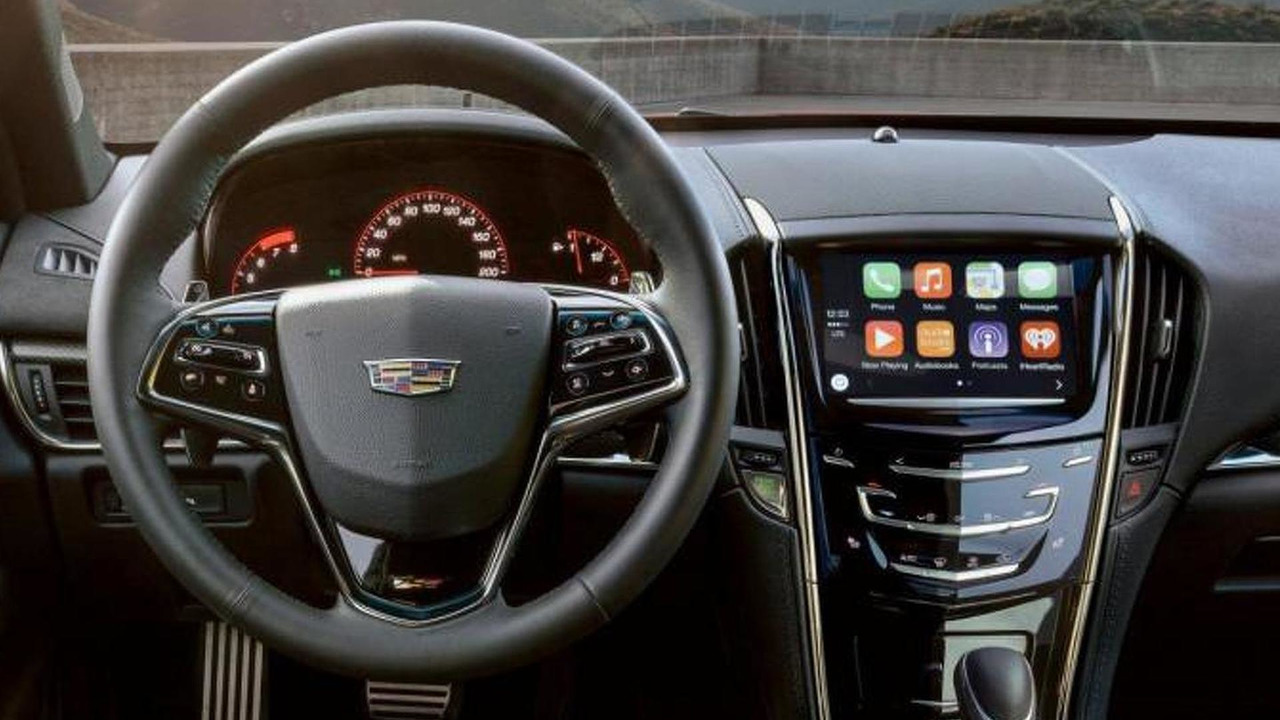 2016 Cadillac CUE infotainment system