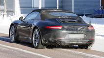 2013 Porsche 911 Targa spied during winter testing
