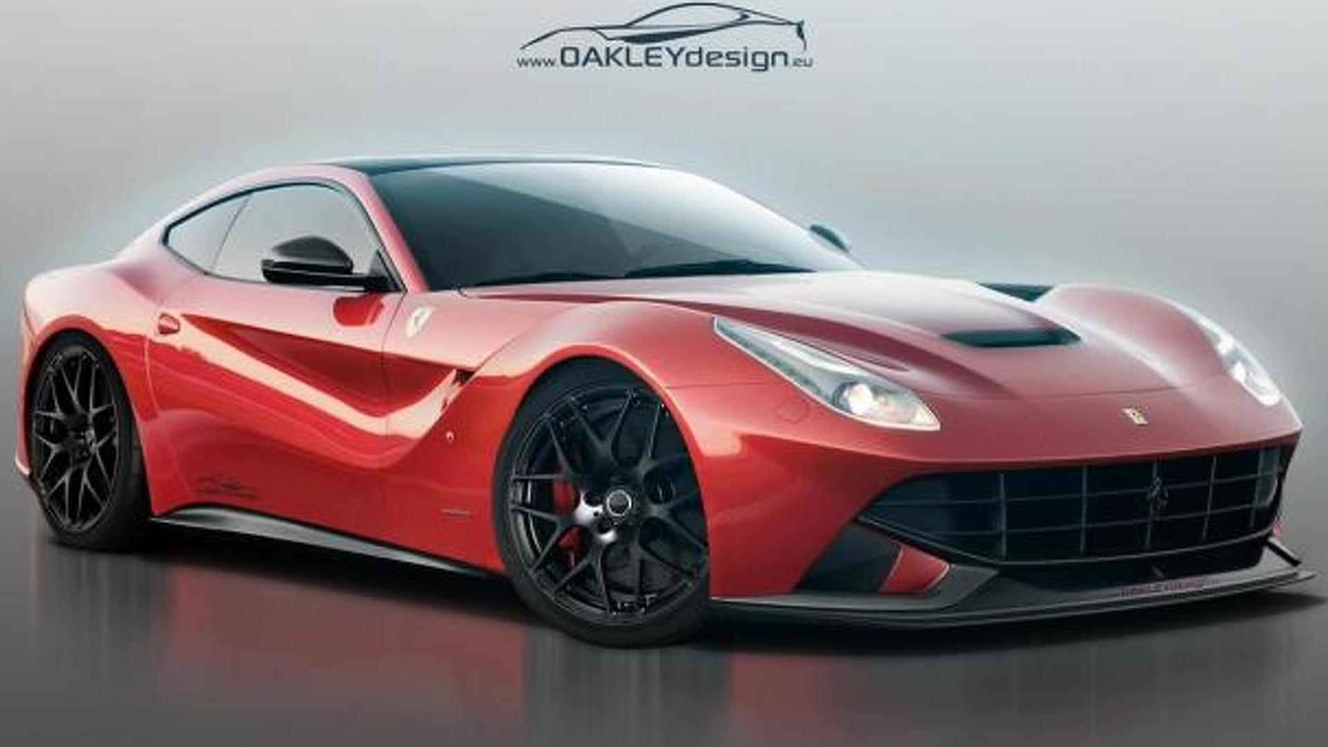 Ferrari F12 Berlinetta receives minor tweaks from Oakley Design