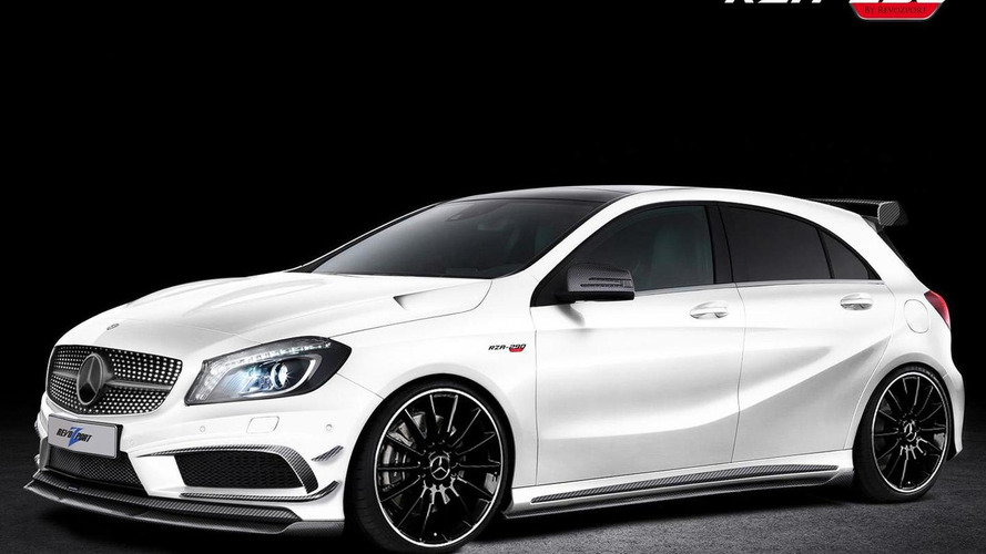 RevoZport tunes the Mercedes A-Class