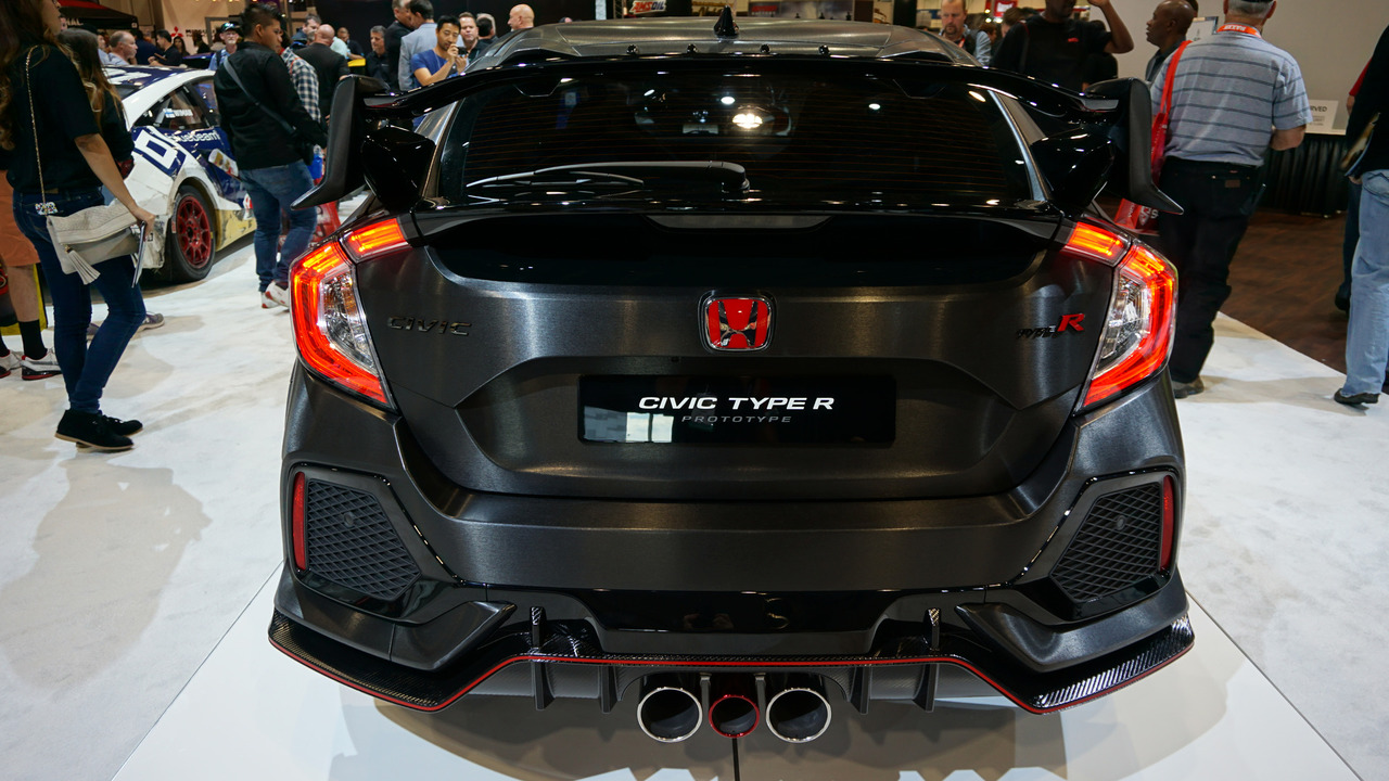 Hooray! The Honda Civic Type R has arrived