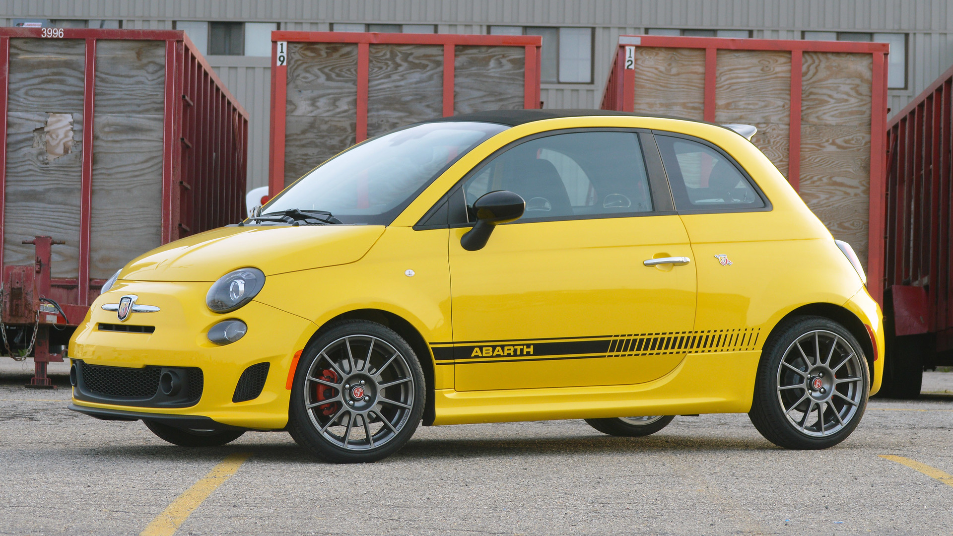 2016 fiat 500c abarth review everything s a compromise. Black Bedroom Furniture Sets. Home Design Ideas