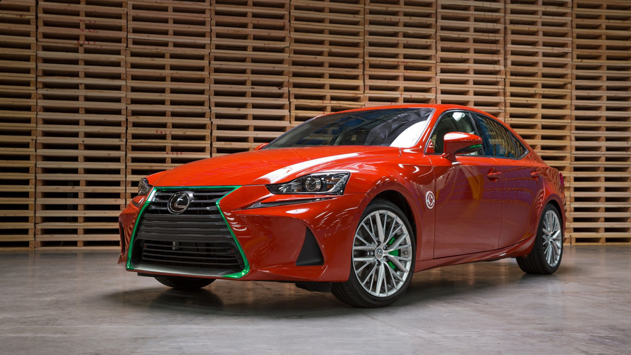 Lexus Sriracha IS concept vehicle spices up LA Auto Show