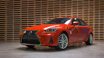 Lexus creates one-off IS with the help of... Sriracha?