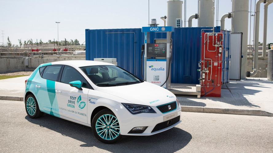 Seat testing cars fueled by biomethane generated from sewage