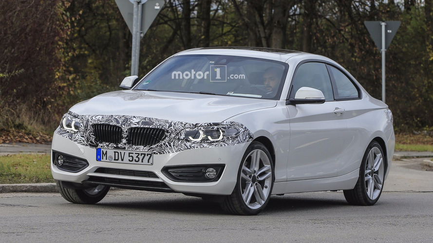 2018 BMW 2 Series Coupe facelift caught hiding nip and tuck